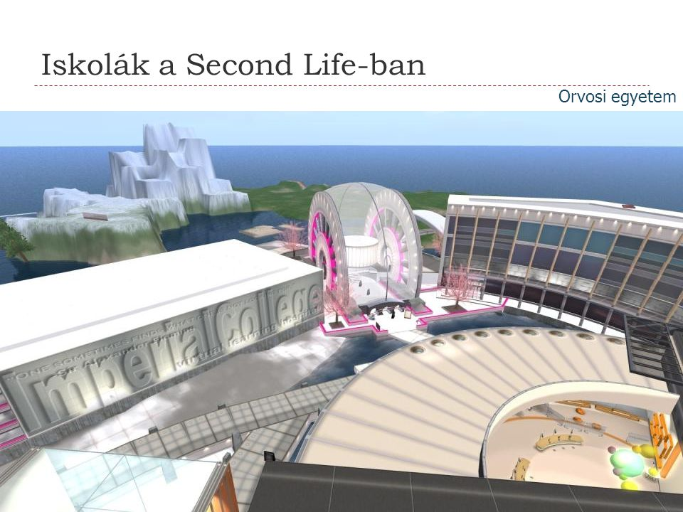 Iskolák a Second Life-ban
