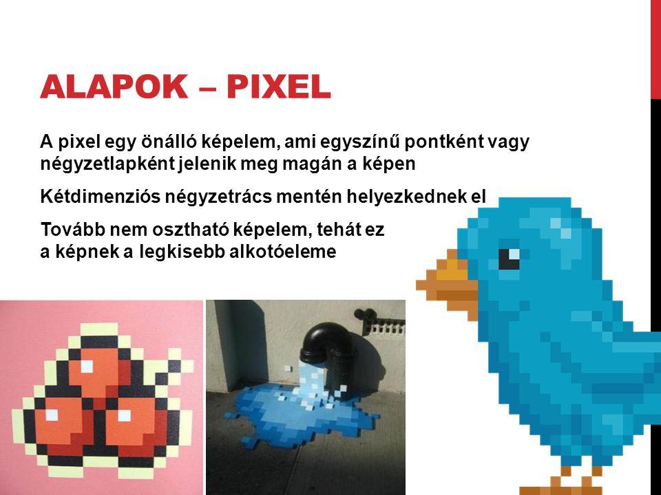 Alapok – Pixel