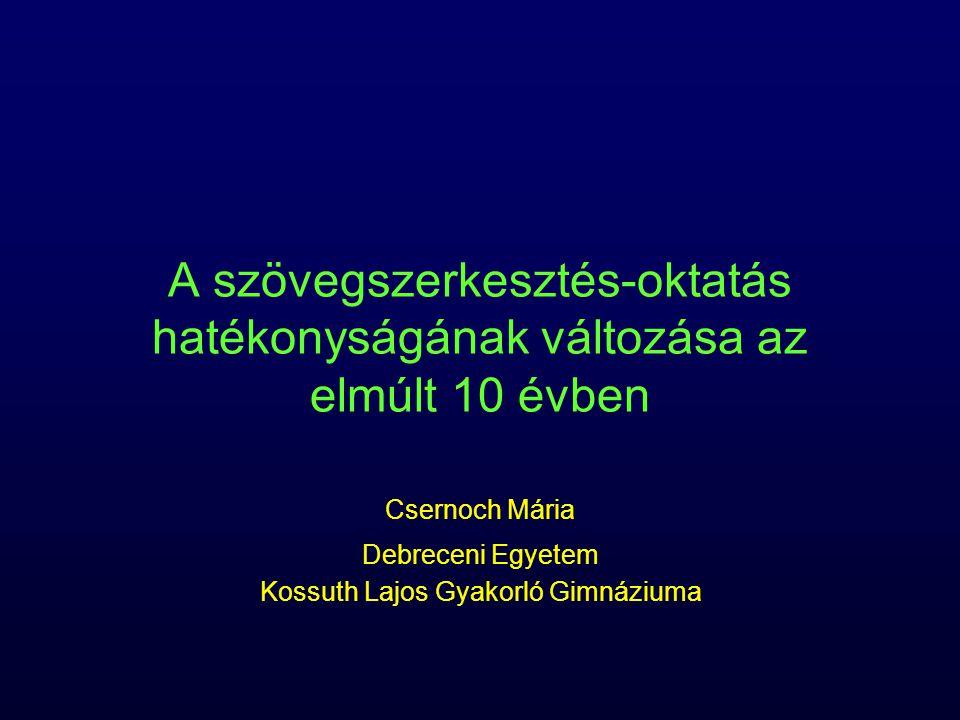 Csernoch Mária Debreceni Egyetem Kossuth Lajos Gyakorló Gimnáziuma
