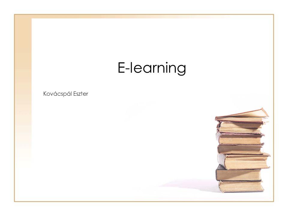 E-learning Kovácspál Eszter