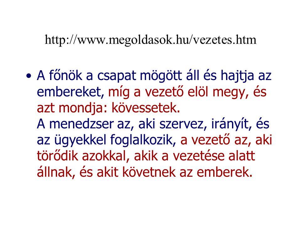 http://www.megoldasok.hu/vezetes.htm