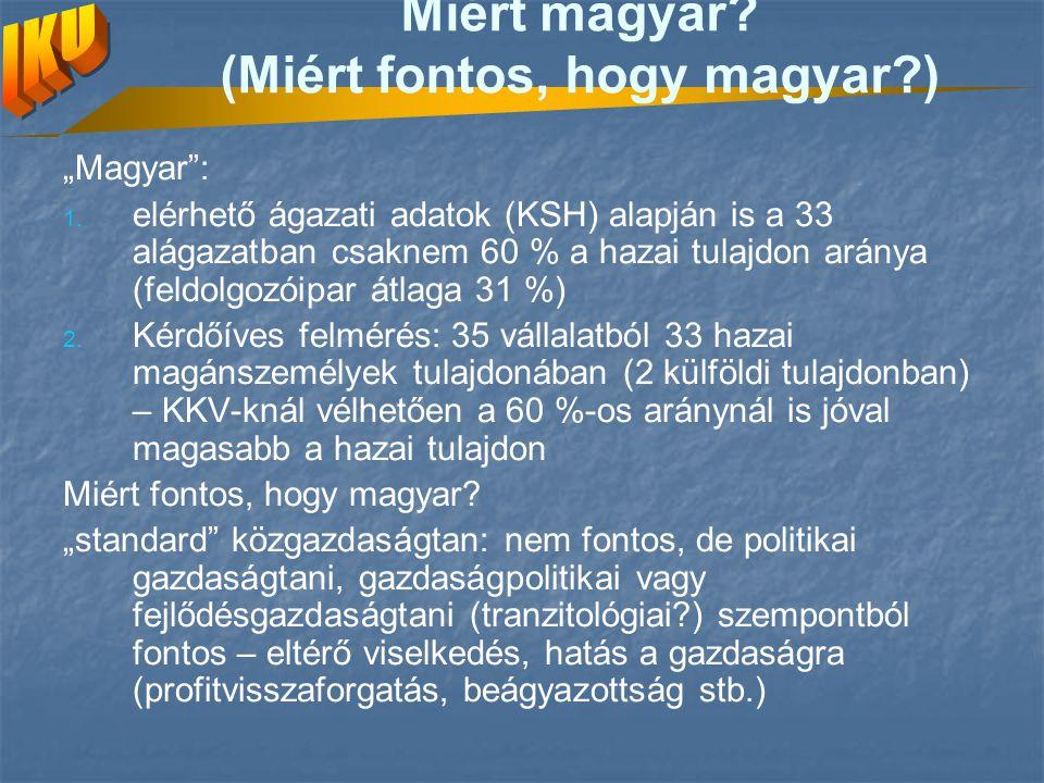 Miért magyar (Miért fontos, hogy magyar )