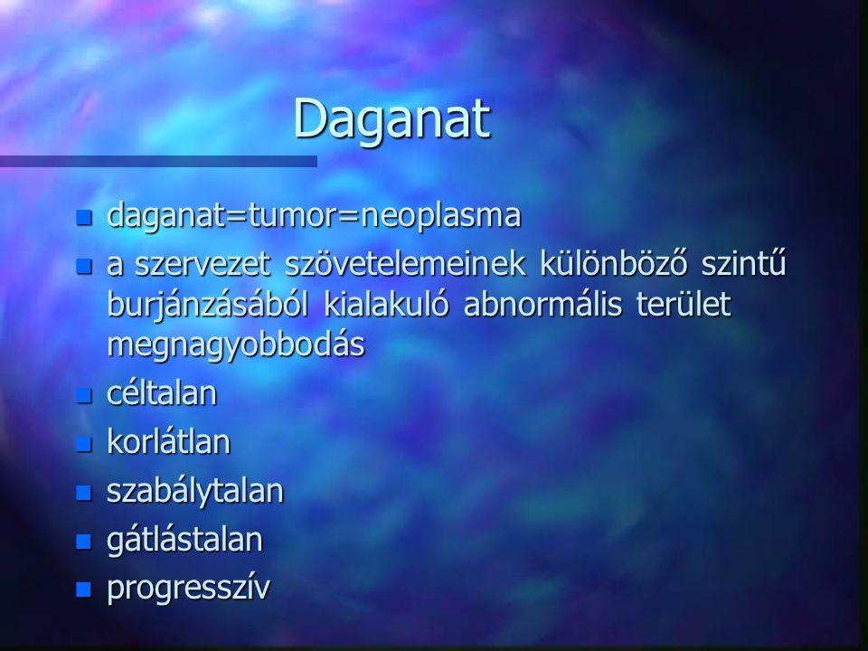 Daganat daganat=tumor=neoplasma