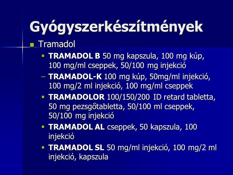 Gyógyszerkészítmények
