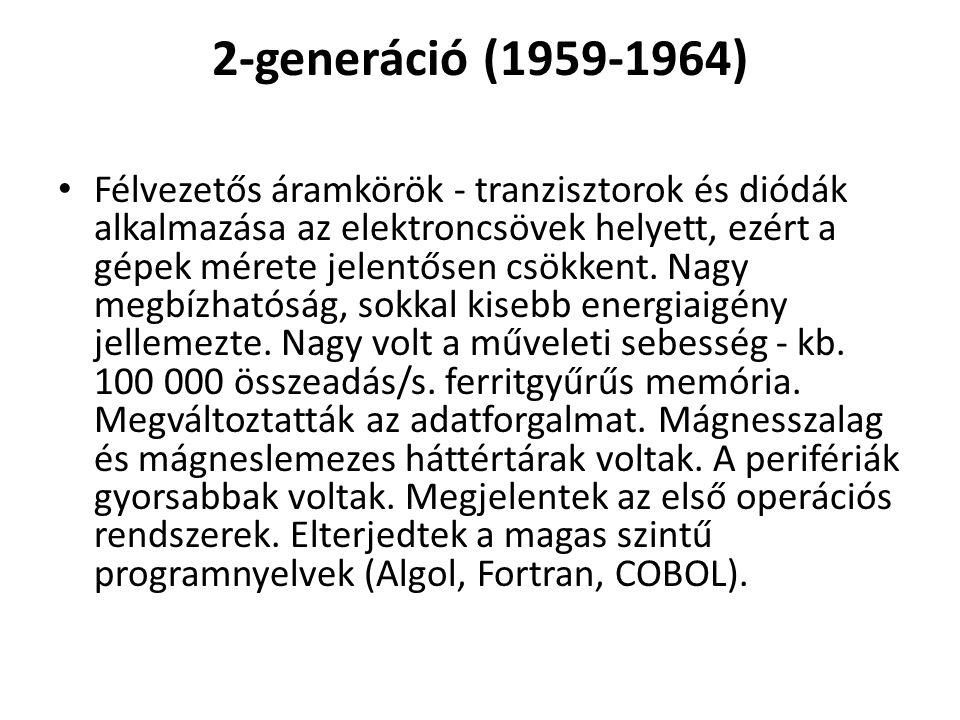 2-generáció (1959-1964)
