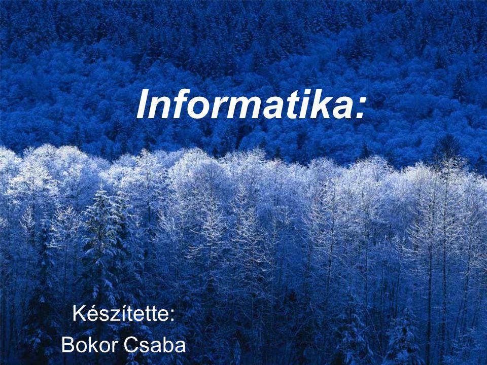 Készítette: Bokor Csaba