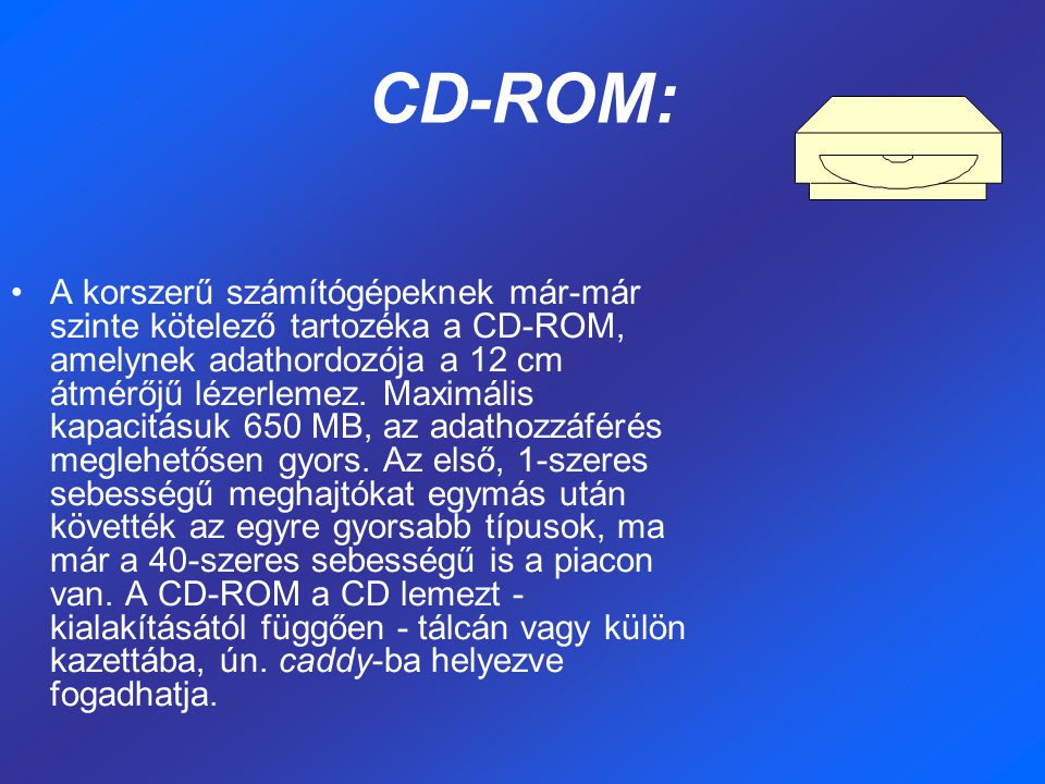 CD-ROM:
