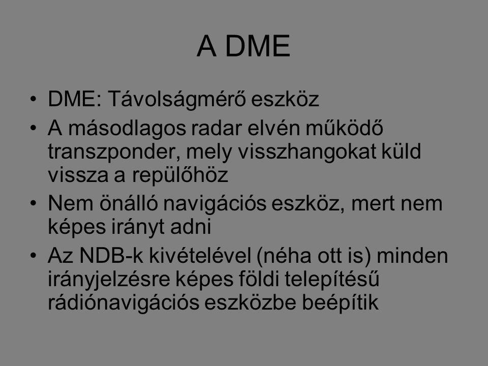 A DME DME: Távolságmérő eszköz
