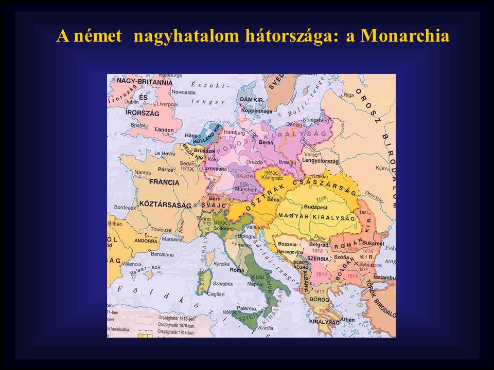 A német nagyhatalom hátországa: a Monarchia