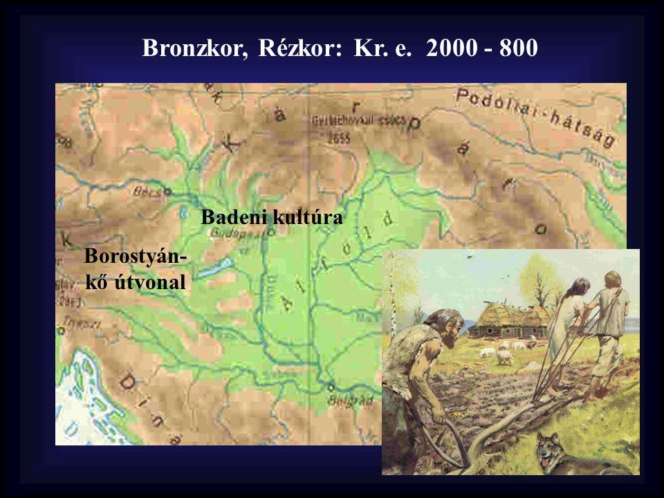 Bronzkor, Rézkor: Kr. e. 2000 - 800 Badeni kultúra