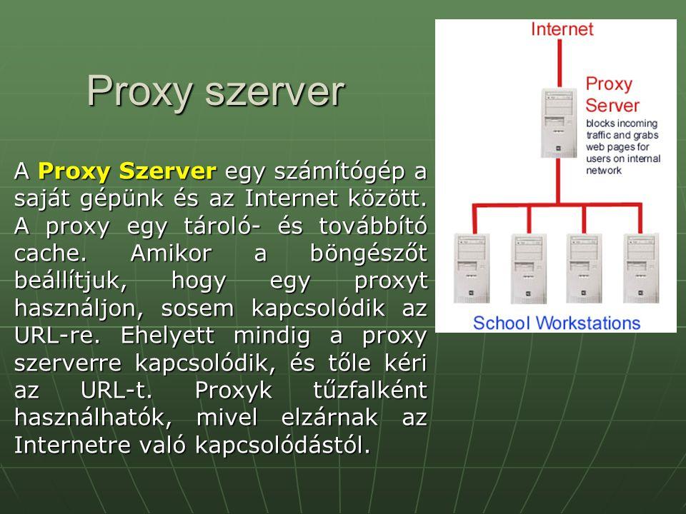 Proxy szerver