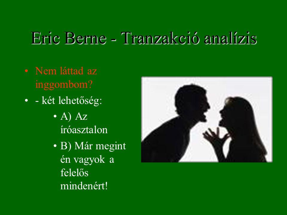 Eric Berne - Tranzakció analízis