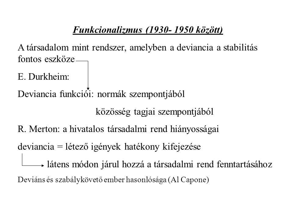 Funkcionalizmus (1930- 1950 között)