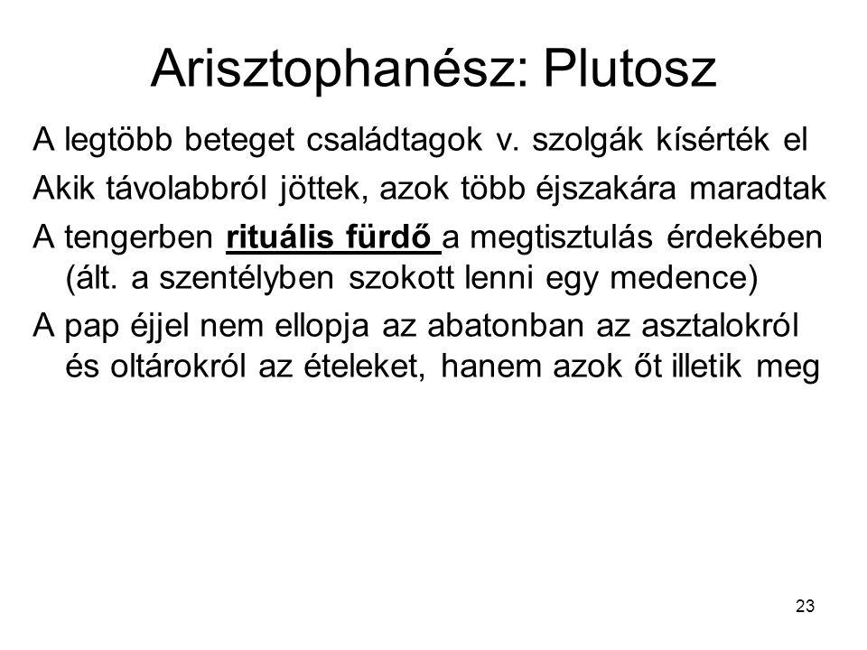Arisztophanész: Plutosz