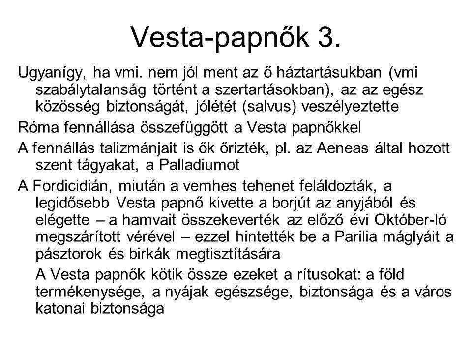Vesta-papnők 3.