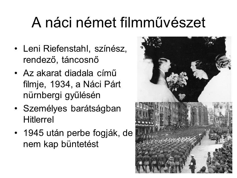 A náci német filmművészet