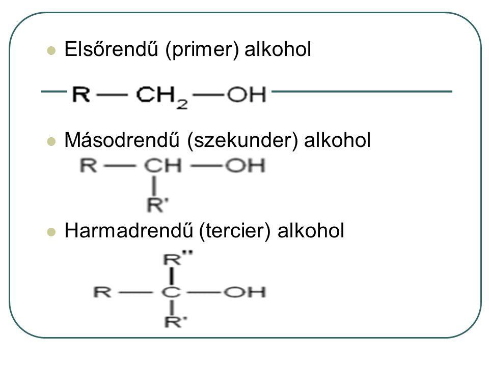 Elsőrendű (primer) alkohol