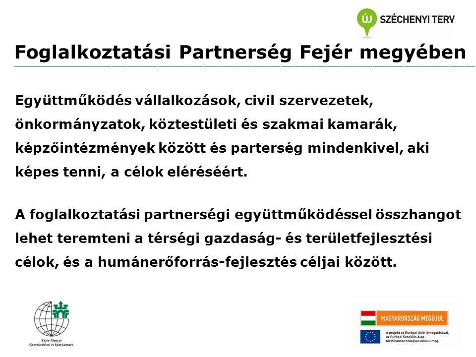 Foglalkoztatási Partnerség Fejér megyében