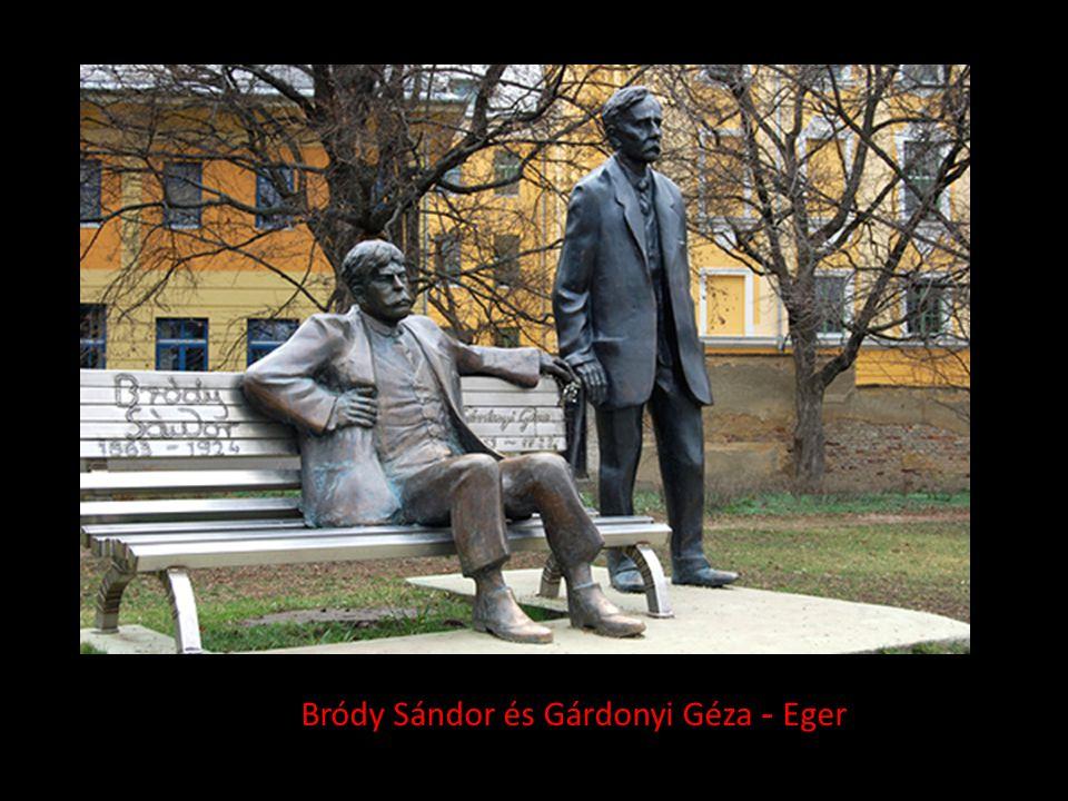 Bródy Sándor és Gárdonyi Géza - Eger