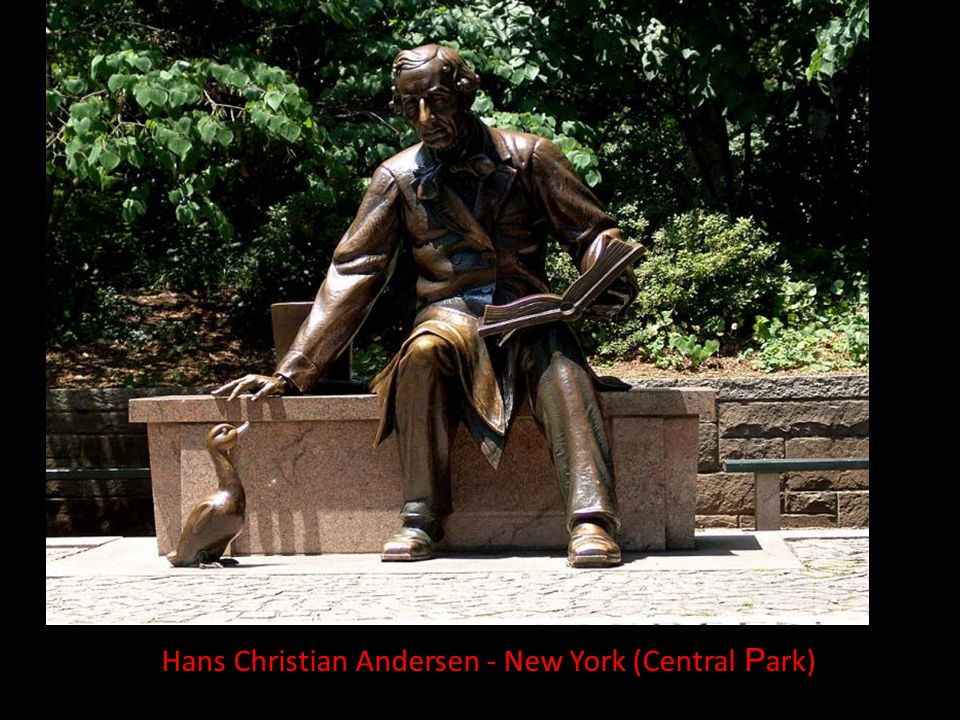 Hans Christian Andersen - New York (Central Park)