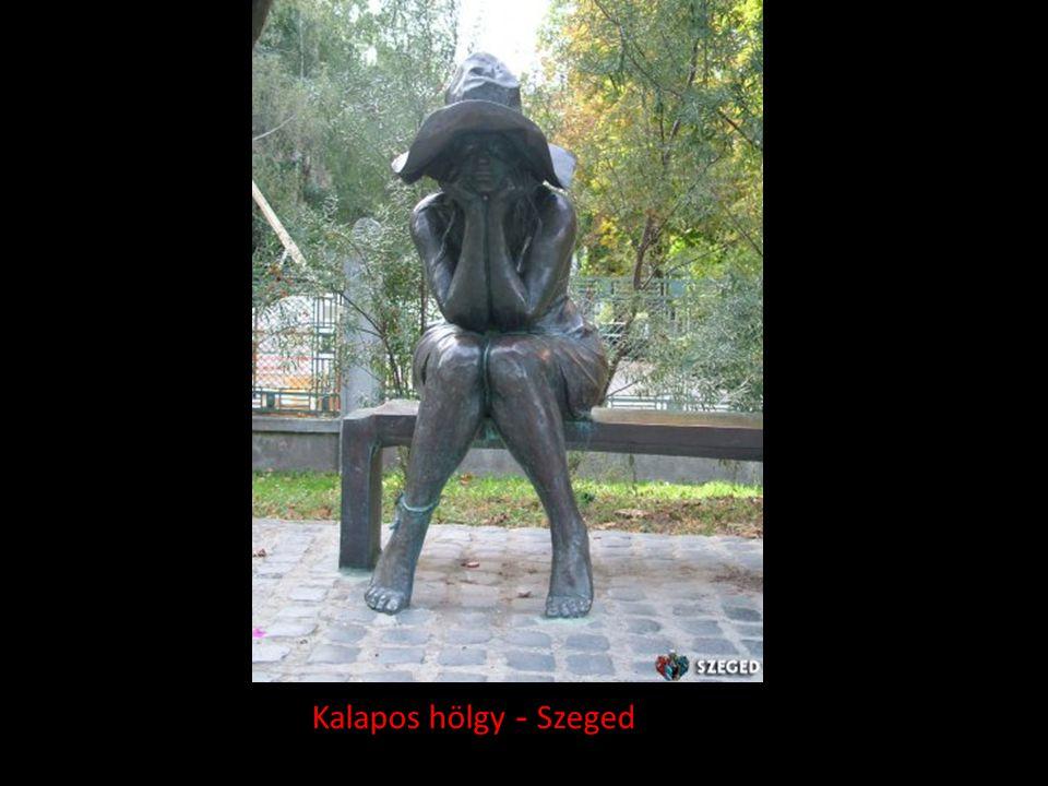 Kalapos hölgy - Szeged