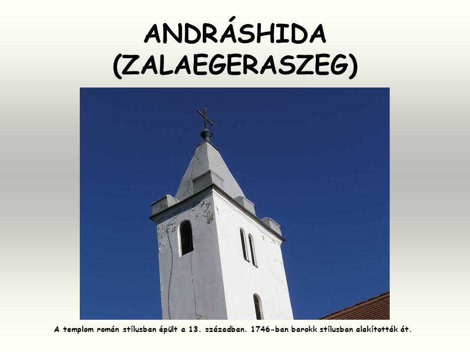 ANDRÁSHIDA (ZALAEGERASZEG)