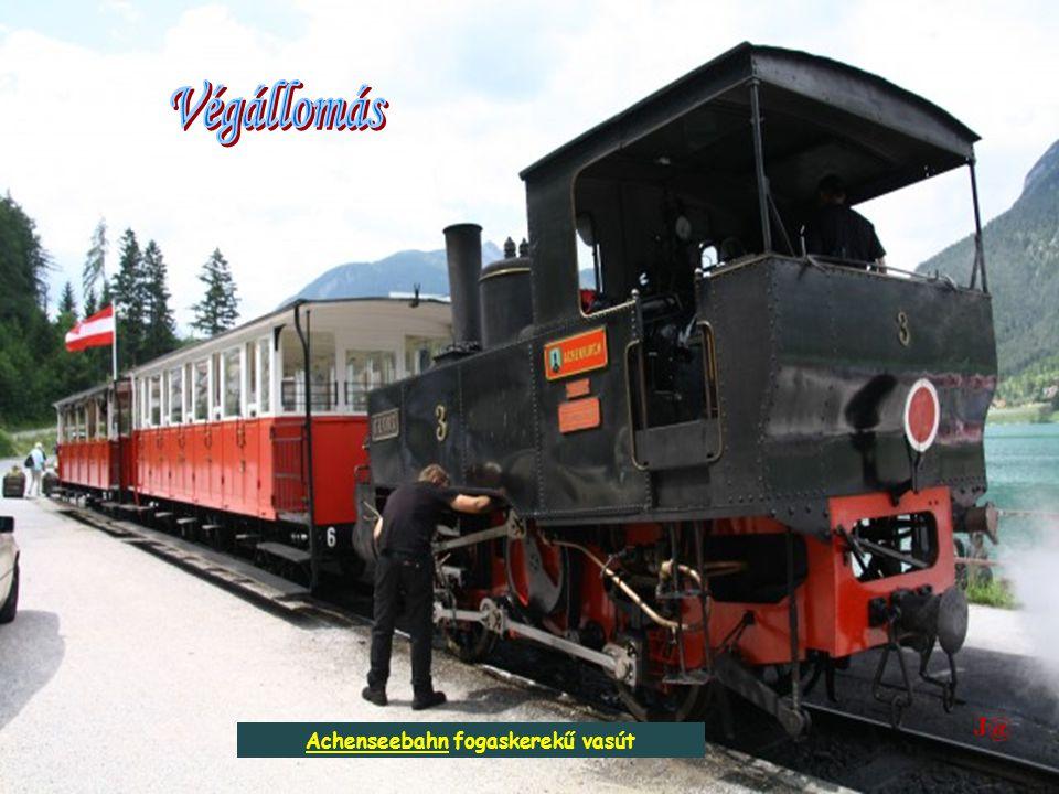 Achenseebahn fogaskerekű vasút