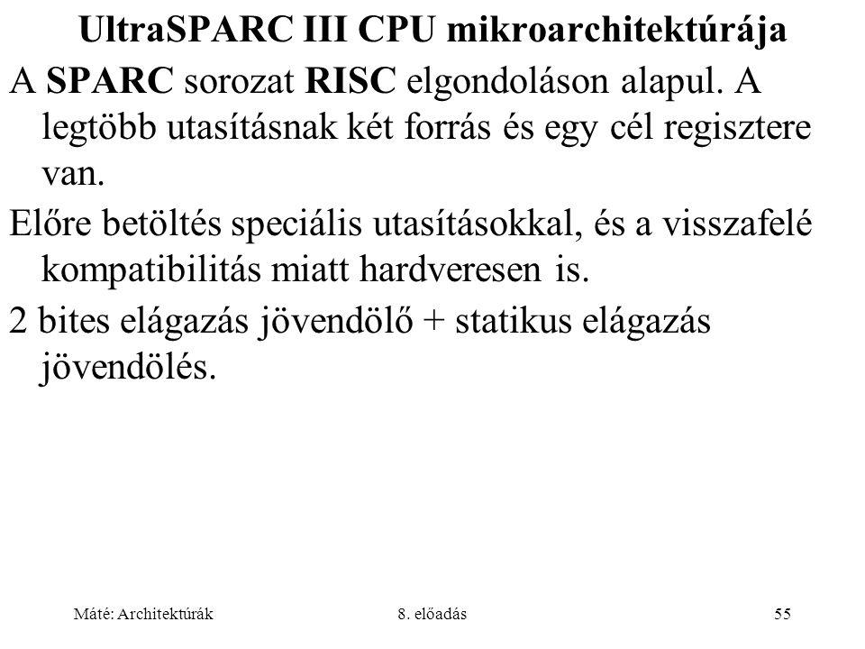 UltraSPARC III CPU mikroarchitektúrája