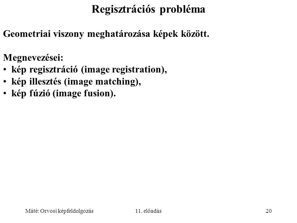 Regisztrációs probléma