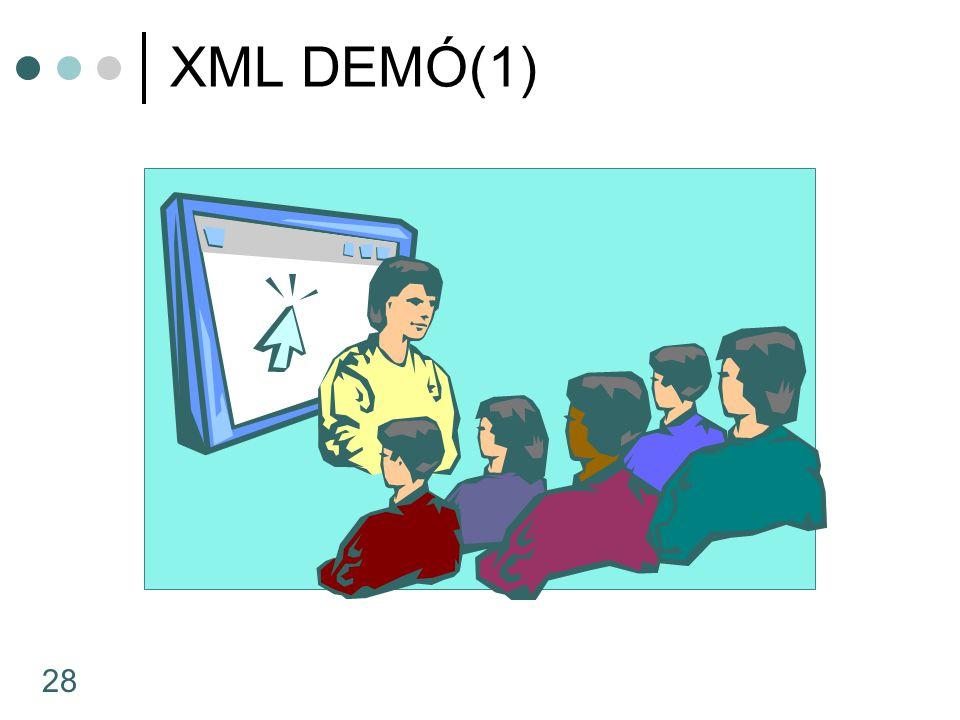 XML DEMÓ(1)