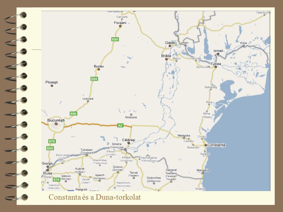 Constanta és a Duna-torkolat