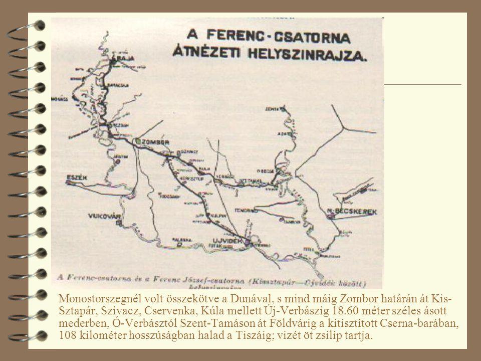 A Ferencz-csatorna Forrás: Wikipedia.