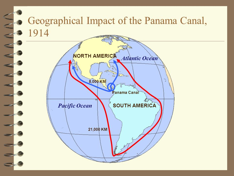 Geographical Impact of the Panama Canal, 1914