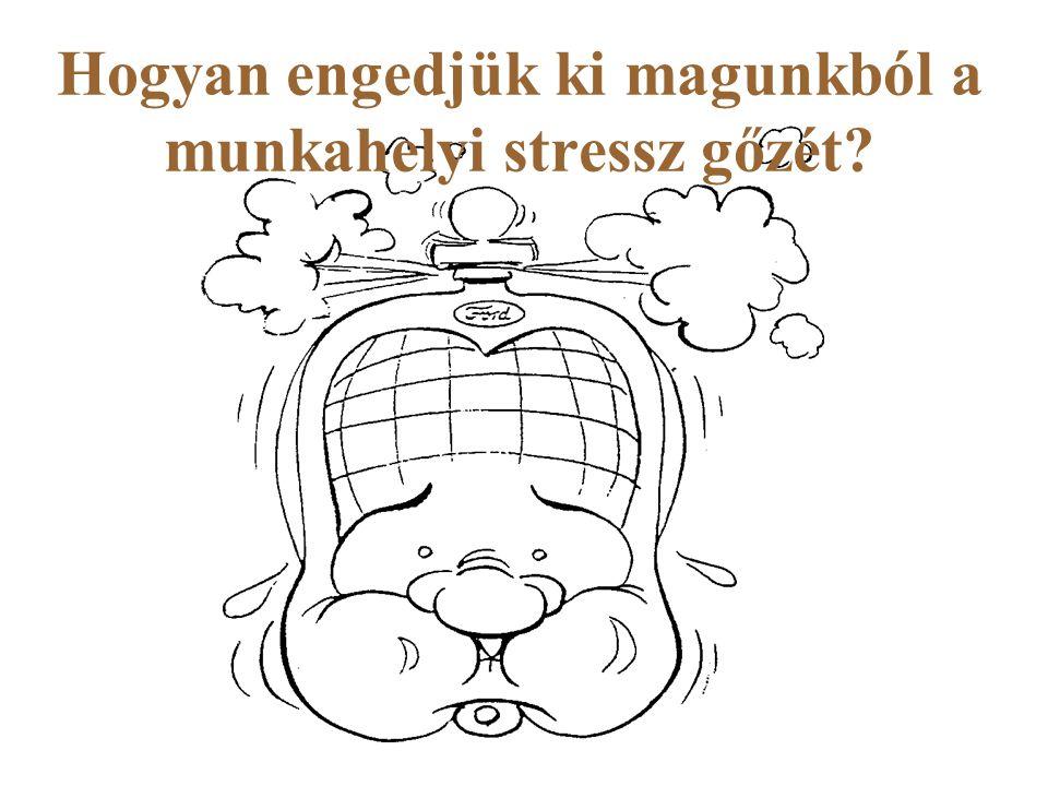 Hogyan engedjük ki magunkból a munkahelyi stressz gőzét
