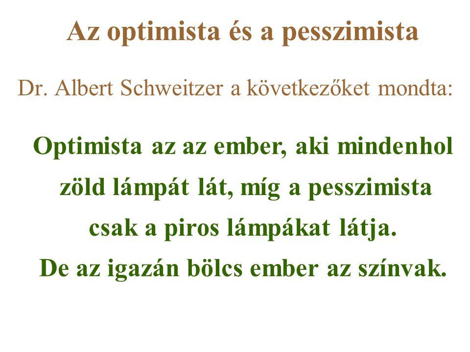 Az optimista és a pesszimista