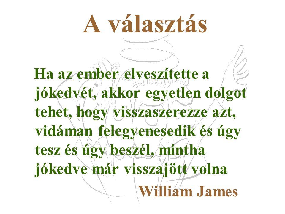 A választás William James