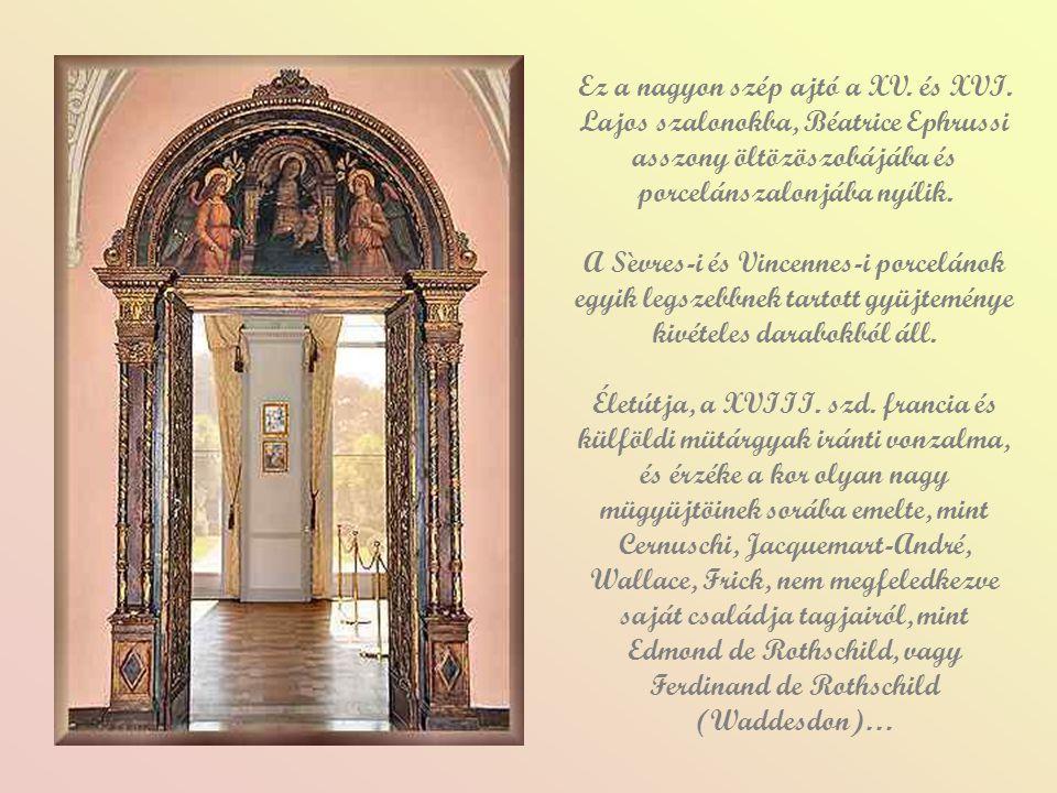Ez a nagyon szép ajtó a XV. és XVI