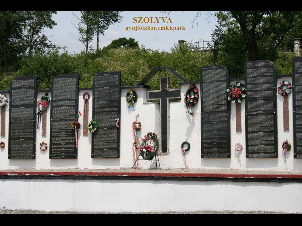 SZOLYVA gyűjtőtábor, emlékpark