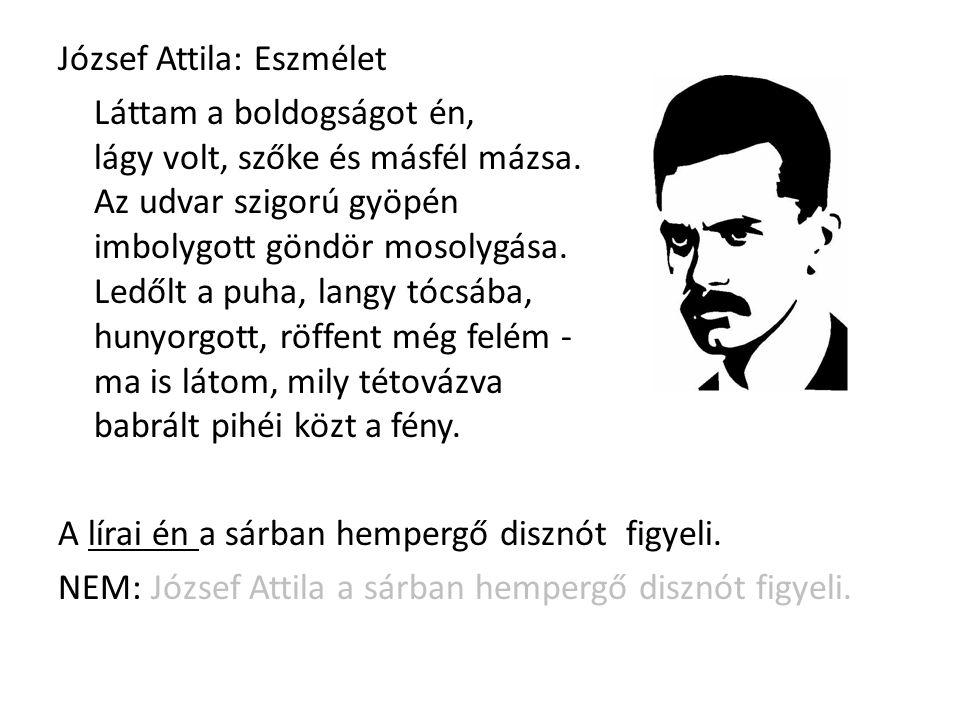 József Attila: Eszmélet