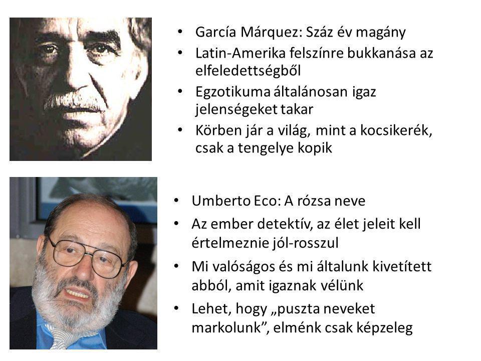 García Márquez: Száz év magány