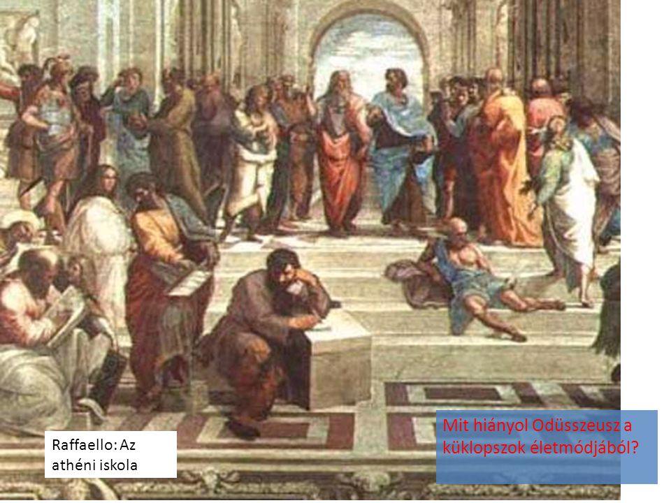 Mit hiányol Odüsszeusz a küklopszok életmódjából