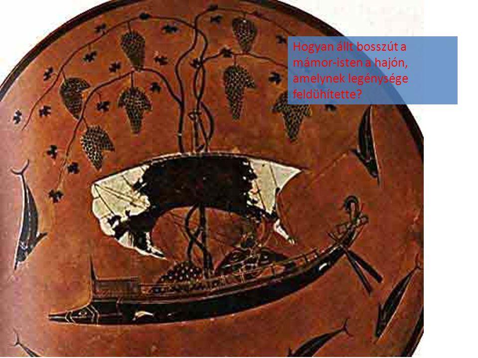 Hogyan állt bosszút a mámor-isten a hajón, amelynek legénysége feldühítette