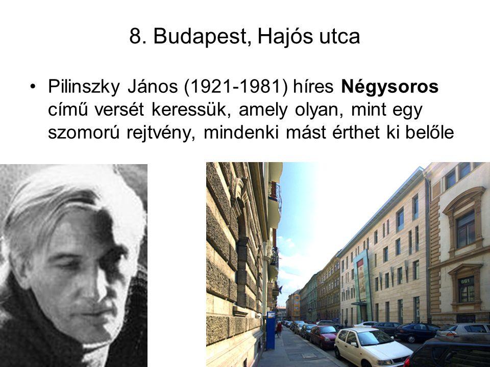 8. Budapest, Hajós utca