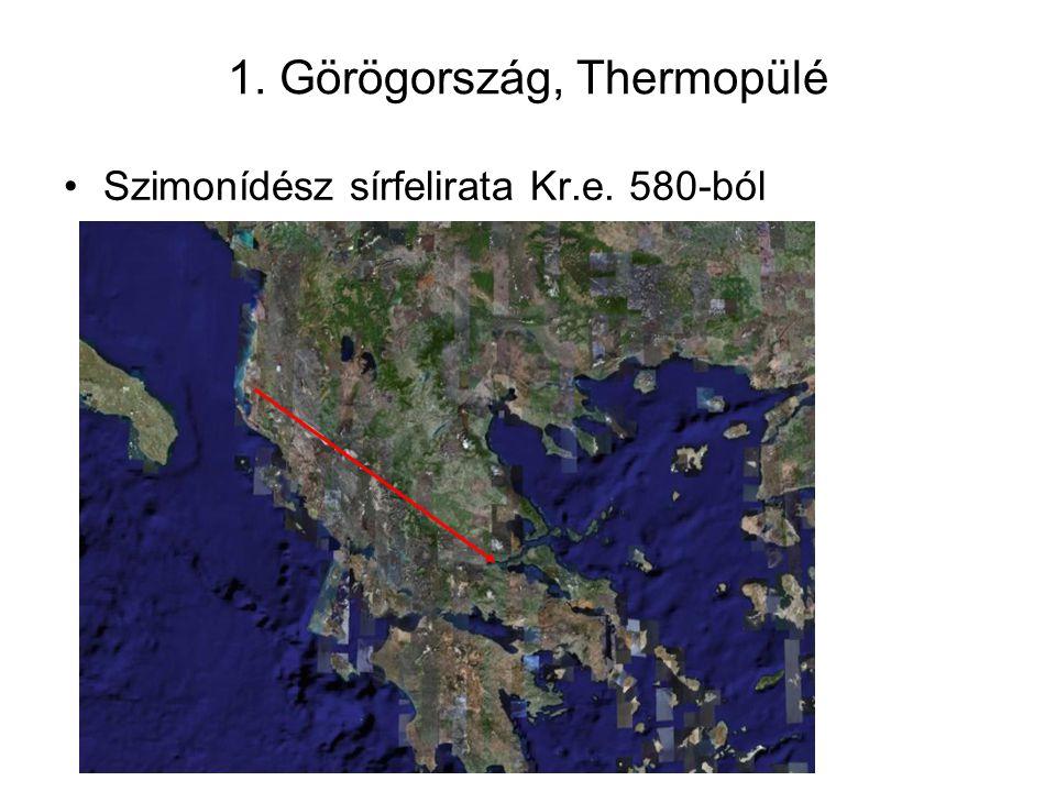 1. Görögország, Thermopülé