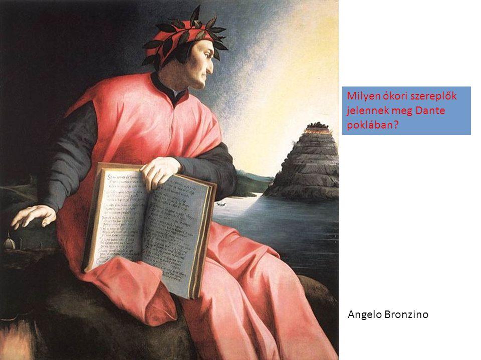 Milyen ókori szereplők jelennek meg Dante poklában