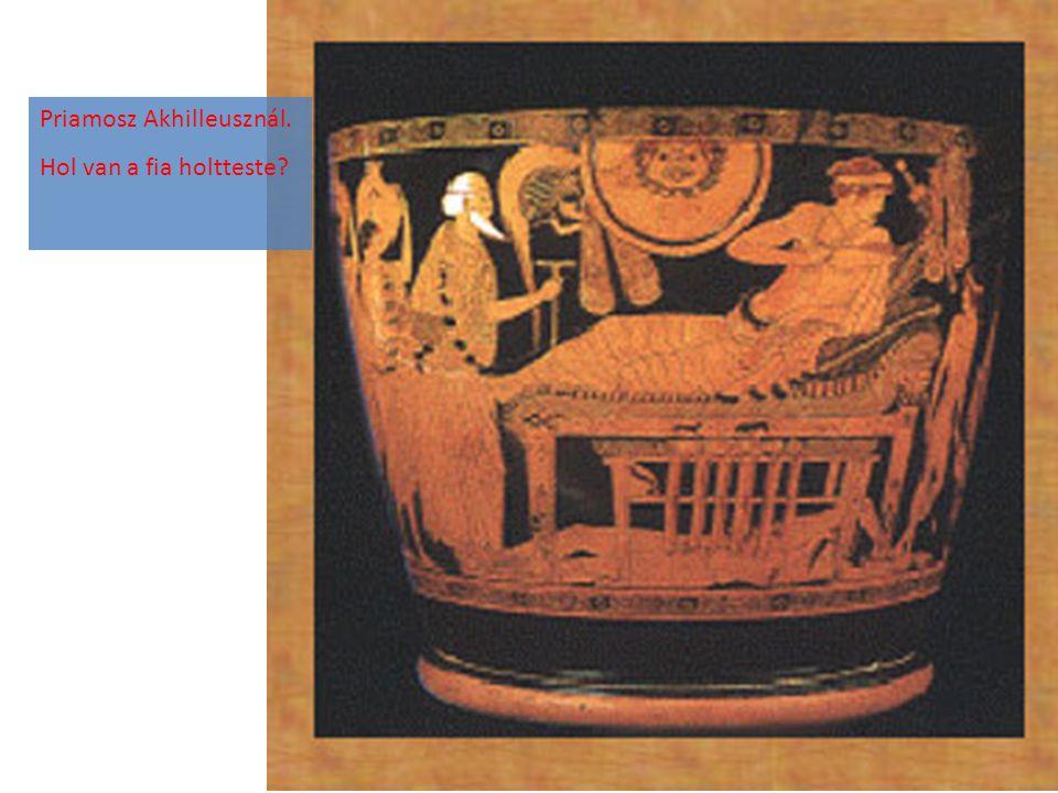 Priamosz Akhilleusznál.