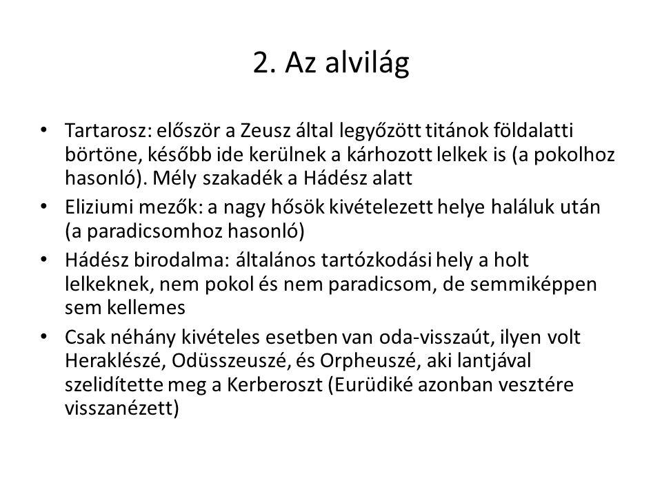 2. Az alvilág