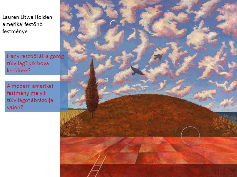 Lauren Litwa Holden amerikai festőnő festménye