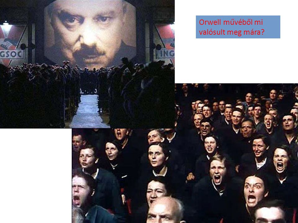 Orwell művéből mi valósult meg mára