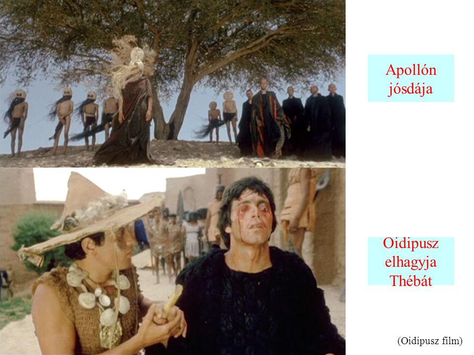 Oidipusz elhagyja Thébát